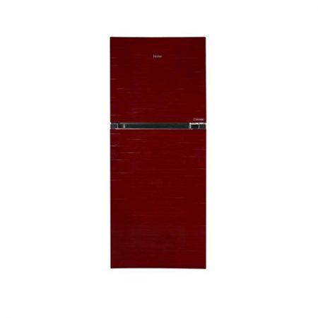 haier turbo premium refrigerator 12 cubic feet red
