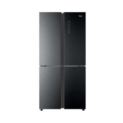 HRF-368-EPB Glass Door Black