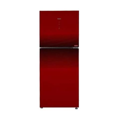 haier inverter refrigerator 15 cubic feet red